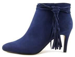 Thalia Sodi Womens Alta Fabric Pointed Toe Ankle Fashion Boots.