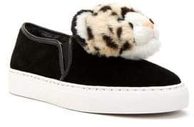 Katy Perry Lusella Faux Fur Sneakers
