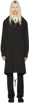 Raf Simons Black Robert Mapplethorpe Edition Workwear Calla Lily Parka