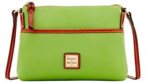 Dooney & Bourke Pebble Grain Ginger Pouchette Shoulder Bag - APPLE GREEN - STYLE
