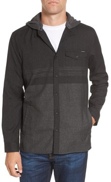 O'Neill Men's Jacinto Hooded Flannel Shirt