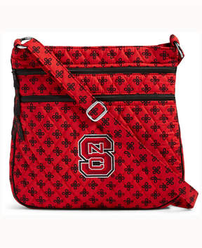 Vera Bradley North Carolina State Wolfpack Triple Zip Hipster - RED - STYLE