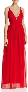 Aqua Grecian Plunge Gown - 100% Exclusive