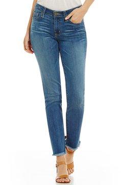 Big Star Hydra Frayed-Hem Cigarette Ankle Jeans