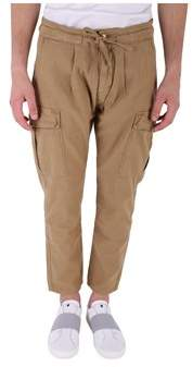 Scotch & Soda Men's Beige Cotton Pants.
