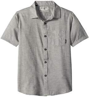 Billabong Kids All Day Helix Short Sleeve Woven Top Boy's Clothing