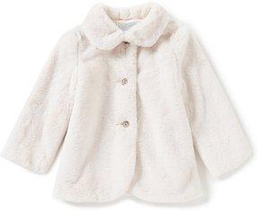 Edgehill Collection Little Girls 2T-6X Faux-Fur Coat