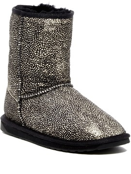 Emu Stinger Genuine Fur Low Waterproof Boot