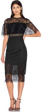 Cynthia Rowley Fitted Midi Dress