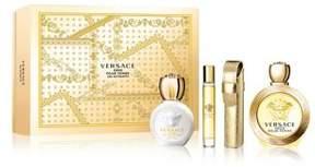 Versace Eros Pour Femme Eau De Toilette Gift Set- $170.00 Value