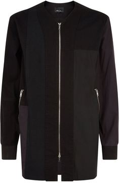3.1 Phillip Lim Embroidered Patchwork Jacket