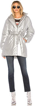 Lovers + Friends Calla Lily Belted Puffer