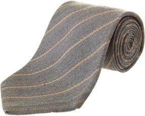 Chanel Jacquard Silk & Wool Tie