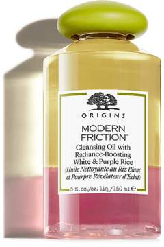 Modern Friction Cleansing Oil with Radiance-Boosting White & Purple Rice