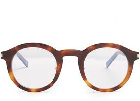 Saint Laurent Round-frame acetate glasses