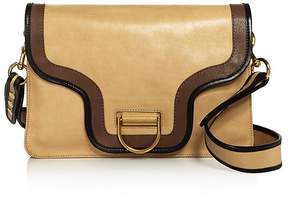 Marc Jacobs Uptown Envelope Medium Leather Shoulder Bag - SAND MULTI/GOLD - STYLE