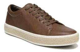 Vince Leather Platform Sneakers
