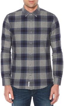 Original Penguin Men's Big & Tall Brushed Flannel Shirt