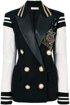 Faith Connexion embellished double breasted blazer