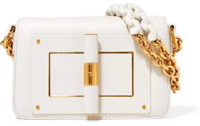 Tom Ford Natalia Small Leather Shoulder Bag - Ivory