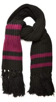 Balenciaga Fringed wool scarf