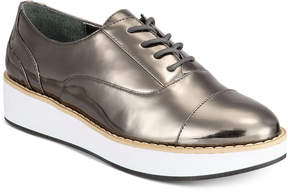 Bar III Dabney Lace-Up Platform Oxfords, Created for Macy's Women's Shoes