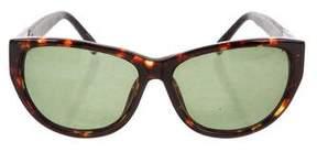 Linda Farrow The Row x Tortoiseshell Cat-Eye Sunglasses