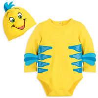 Disney Flounder Costume Bodysuit for Baby - The Little Mermaid