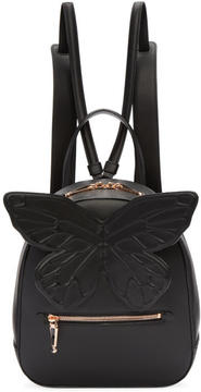 Sophia Webster Black Kiko Butterfly Backpack