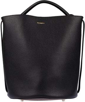 Jil Sander Logo Plaque Bucket Bag