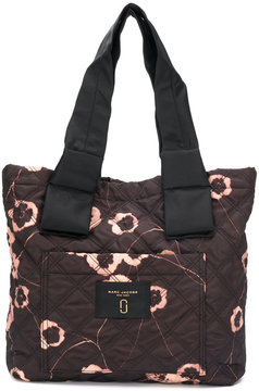Marc Jacobs floral print tote bag - BLACK - STYLE