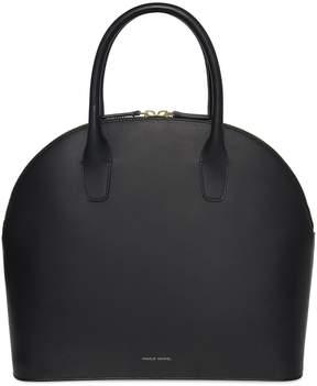 Mansur Gavriel Black Top Handle Rounded Bag