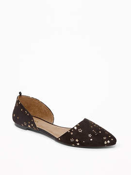 Old Navy Sueded D'Orsay Flats for Women