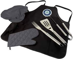 Picnic Time Seattle Mariners BBQ Apron, Utensil & Tote Set