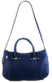 As Is B. Makowsky Glove Leather Convertible Satchel