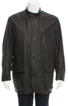 Loro Piana Roadster Leather Jacket