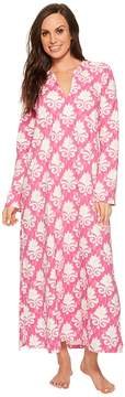 BedHead Long Sleeve Stretch Knit Long Night Gown Women's Pajama