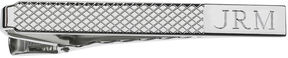 Asstd National Brand Personalized Grid Pattern Tie Bar
