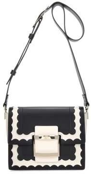 Roger Vivier Mini Viv' Scallops leather shoulder bag