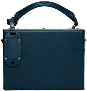 Sophie Hulme Blue Albany Bag