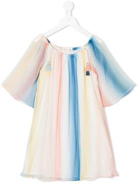 Chloé Kids striped swing dress