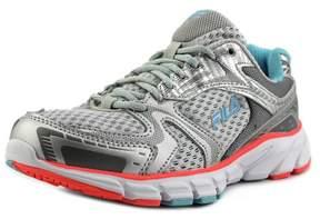 Fila Approach Women US 7 Silver Running Shoe
