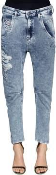 Diesel Relaxed Boyfriend Cotton Denim Jeans