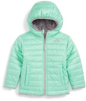 The North Face Toddler Girl's Mossbud Reversible Heatseeker(TM) Wind Resistant Jacket