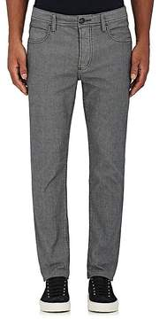 James Perse Men's Textured Herringbone Slim Jeans