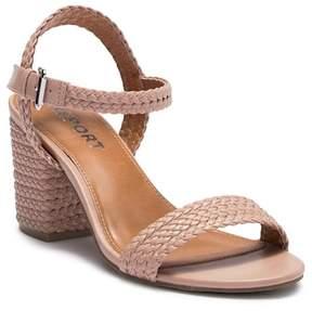 Report Pike Block Heel Sandal