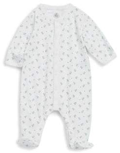 Petit Bateau Baby's Cotton Footie