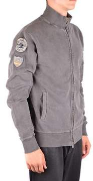 Meltin Pot Men's Mcbi340108o Grey Cotton Sweatshirt.
