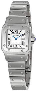 Cartier Santos de Guilloche Roman Dial Ladies Watch