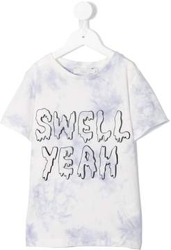 Stella McCartney Arlow Swell Yeah print T-shirt